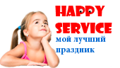Happy service logo